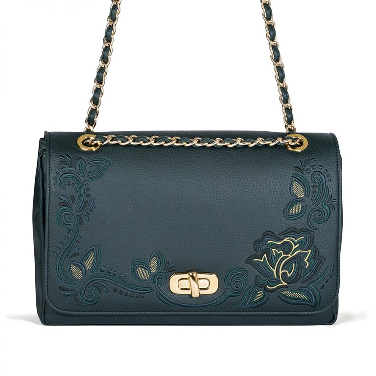 001_The Queen Bag_shoulder-bag2_green copie