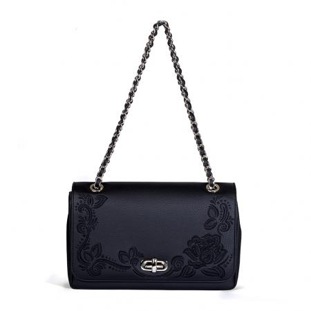008_The Queen Bag_side 1_black