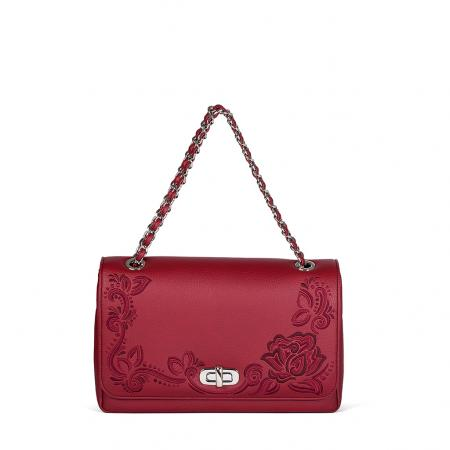 003_The Queen Bag_side 1_red