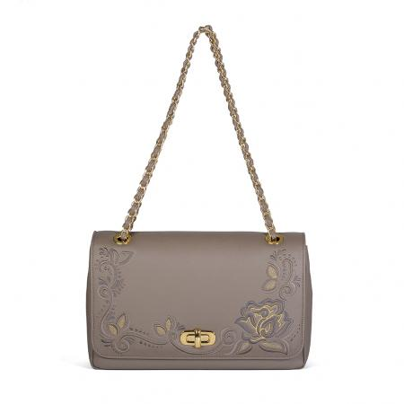 002_The Queen Bag_side 1_taupe